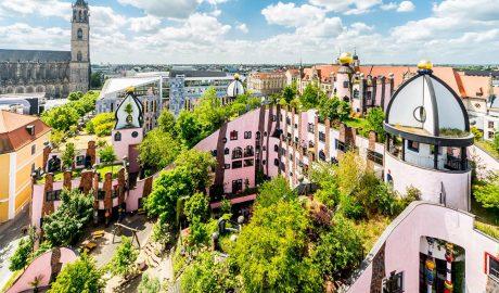 Green Citadel, Nemačka, Hundertwasser, Grune Zitadelle von Magdeburg, Magdeburg, arhitektura, kockice života, kockice zivota