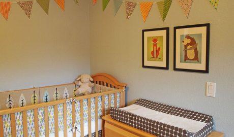 uredjenje sobe za bebe, dečak, kockice zivota, kockice života