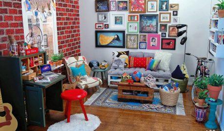 uredjenje dnevne sobe, kreativan kutak, enterijer, kockice zivota, kockice života