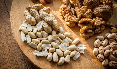 orašasti plodovi, bademi, kikiriki, pistaći, orasi, kockice zivota, kockice života