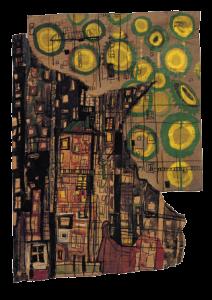 Friedrich Hundertwasser, arhitektura, arhitekta, umetnik, slikar, slikarstvo, Austrija, moderna arhitektura, kockice života, kockice zivota