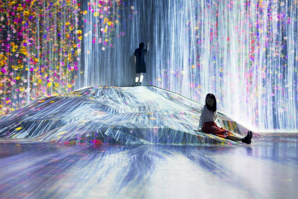 digitalni muzej, Japan, tehnologija, digitalna tehnologija, kockice života, kockice zivota