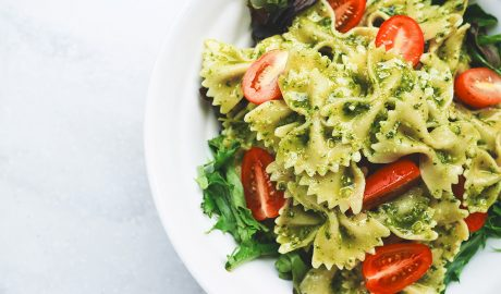 pesto, genovese, špagete, italijanska kuhinja, bisiljak, kockice života, kockice zivota