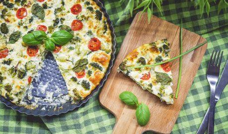 pita, bosiljak, sir, brokoli, recept, kuvanje, kockice života, kockice zivota