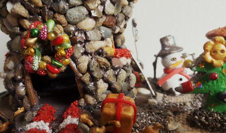 dekoracija, Nova godina, ukrasi, ukrašavanje, Božić, kockice života, kockice zivota