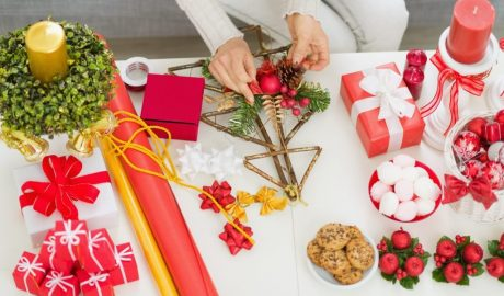 DIY ideje, Nova godina, crafts, novogodisnje dekoracije, kockice zivota, kockice života