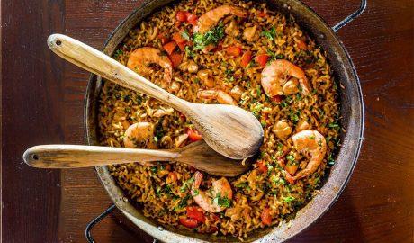 paelja, španija, pirinač, recept, ručak, kockice života, kockice zivota