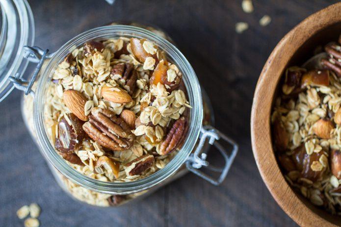 Zdravlje, doručak, granola, musli, pahuljice, kockice zivota, kockice života