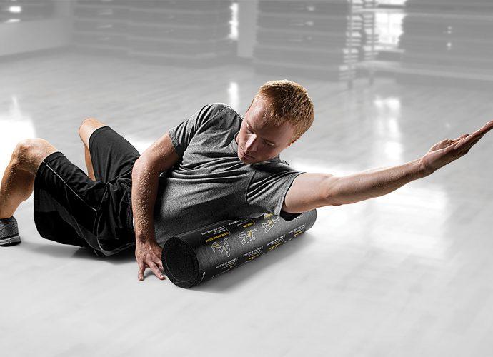 roler, masažer, vežbanje, istezanje, zdravlje, trening, kockice zivota, kockice života