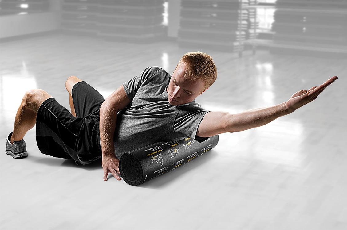 Vežbanje uz roler kao novi način opuštanja i masaže