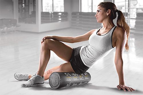 roler, roller, masažer, masiranje, masaža, mišići, kockice života, kockice zivota
