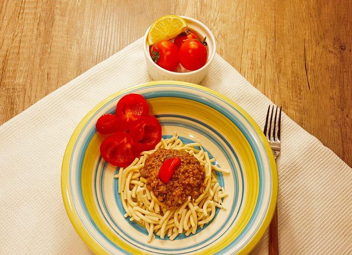 vege špagete proso soja