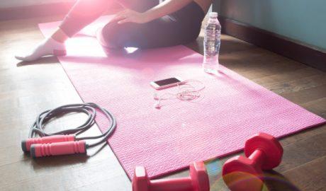 pakleni plan za vežbanje, vežbanje kod kuće