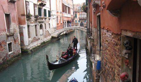 venecija, karneval, putovanje, maske, kanal, gondola, gondolijer, februar, murano