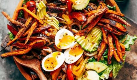 salata, piletina, bezglutenska, ručak, recept, meso, krompir, intolerancija, kockice života, kockice zivota