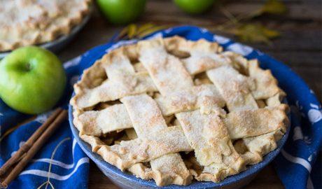 pita sa jabukama, pita, jabuke, kockice života, kockice zivota, kolač