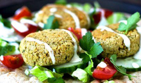 Vege recepti, falafel, leblebije, tahini, susam, zdravi recepti, kockice zivota