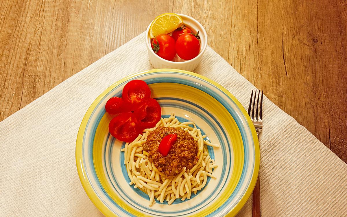Noviteti – Špagete od prosa sa sojinim ljuspicama