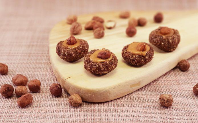 zdrav slatkiš kolačići lešnik