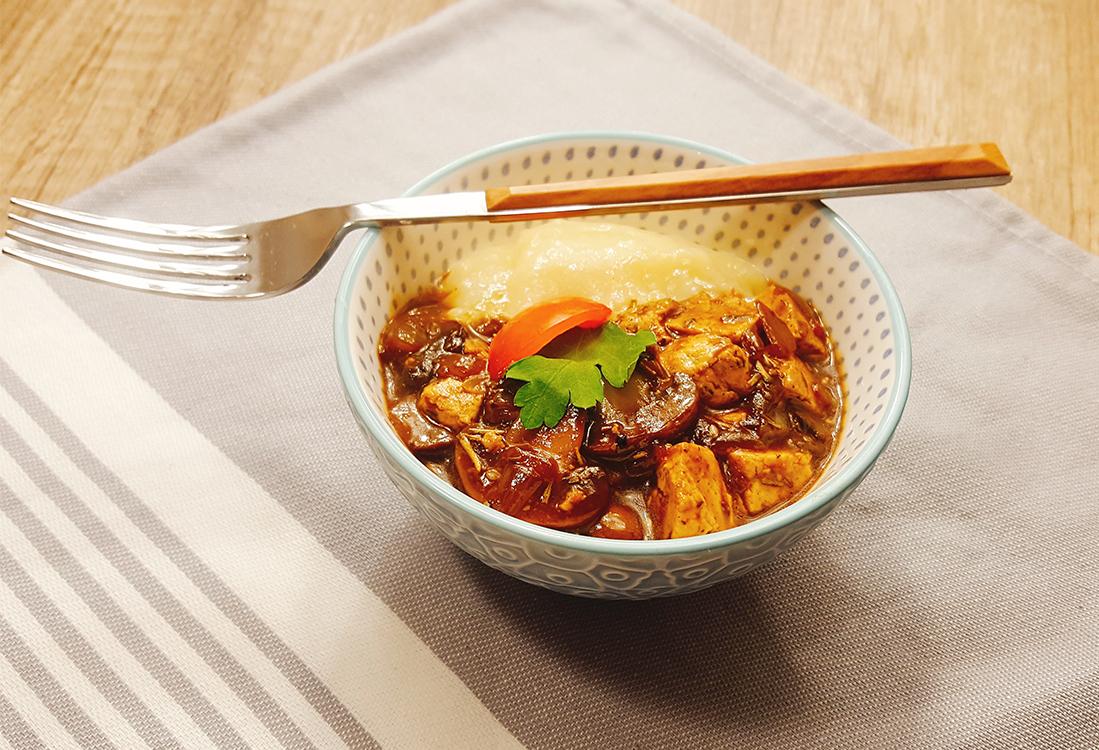 Zdravlje u tanjiru – šampinjoni i tofu sir za vege varijantu